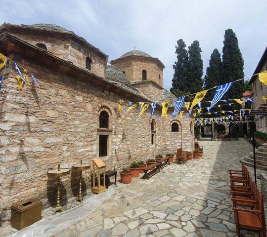 The Holy Monastery of Evangelistria
