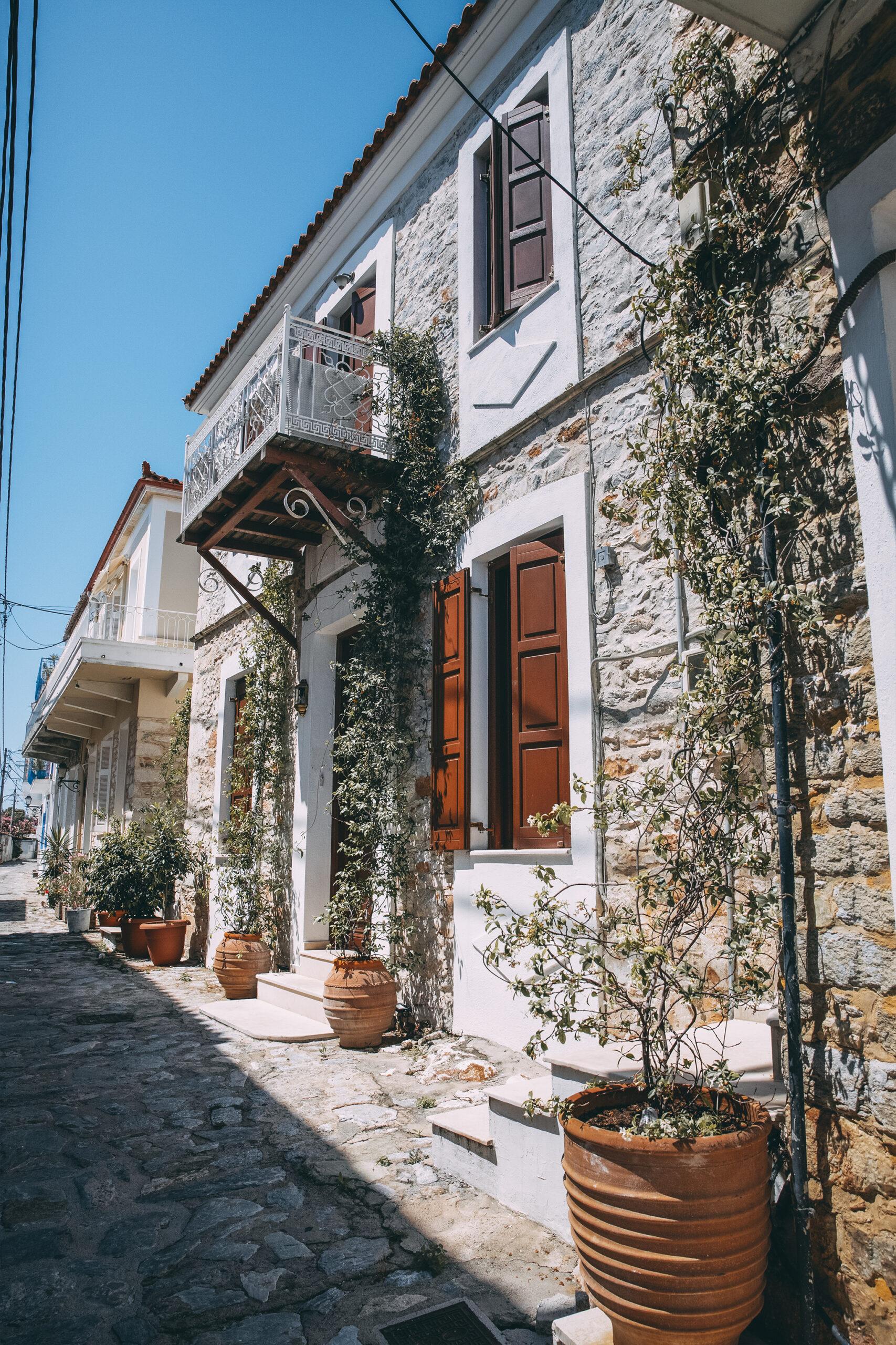 Skiathos Architecture